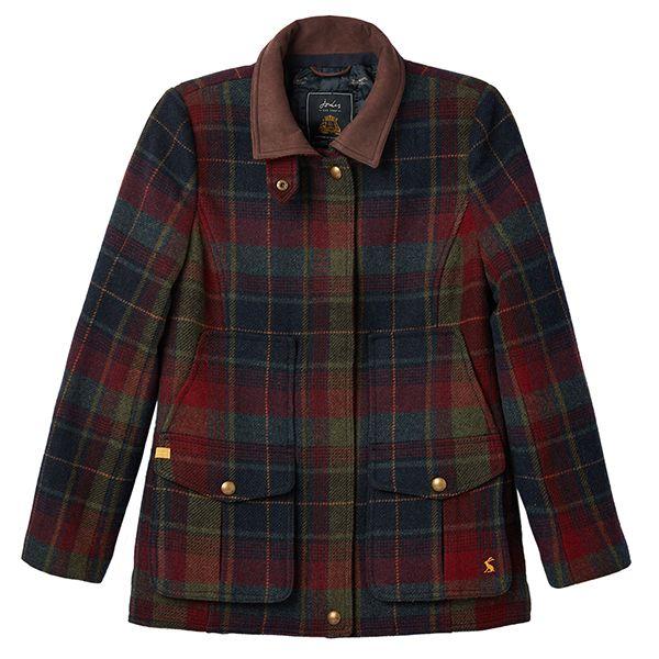 Joules Fieldcoat Red Tweed Jacket