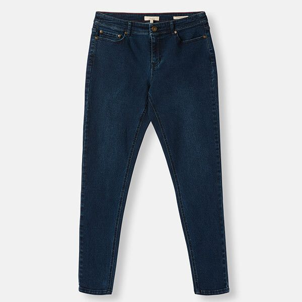 Joules Monroe Indigo High Rise Stretch Skinny Jeans