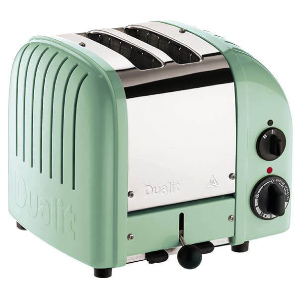 Dualit Classic Vario AWS Mint Green 2 Slot Toaster with FREE Gift