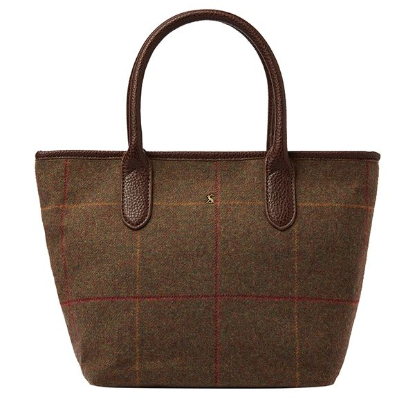 Joules Carey Brown Tweed Grab Bag