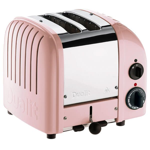 Dualit Classic Vario AWS Petal Pink 2 Slot Toaster With Free Gift