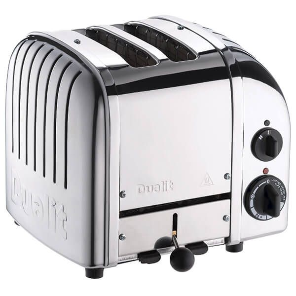 Dualit Classic Vario AWS Polished 2 Slot Toaster With Free Gift