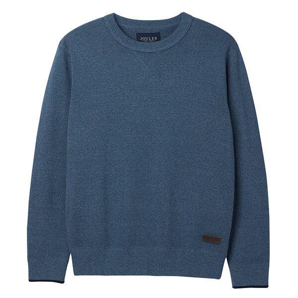 Joule Eskdale Blue Marl Milano Stitch Jumper