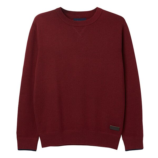 Joules Eskdale Deep Red Milano Stitch Jumper