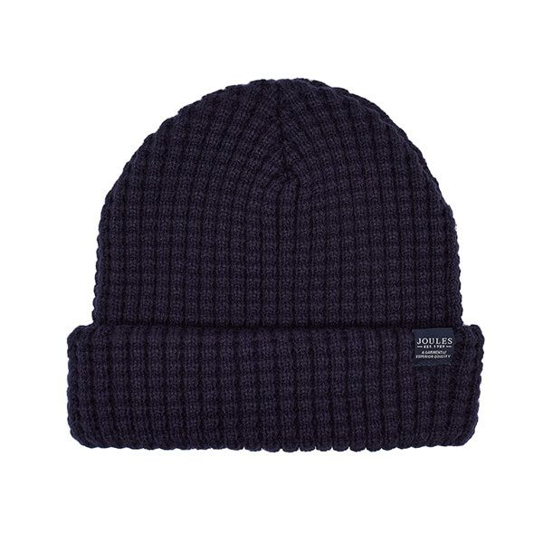 Joules Bamburgh Midnight Knitted Hat