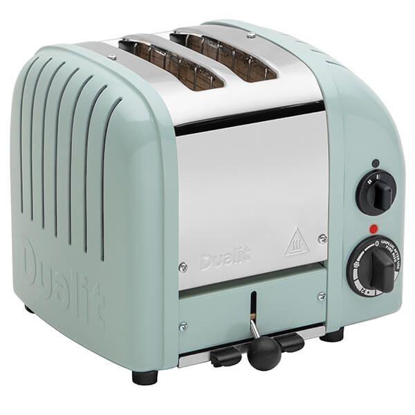 Dualit Classic Vario AWS Eucalyptus 2 Slot Toaster with FREE Gift