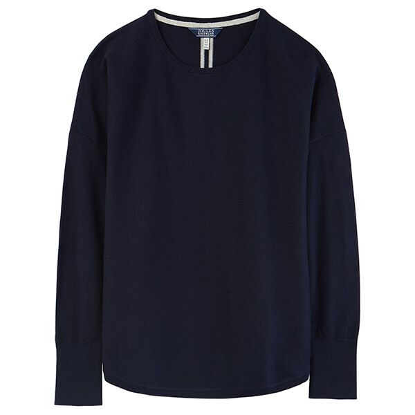 Joules Poppy French Navy Round Neck Jumper
