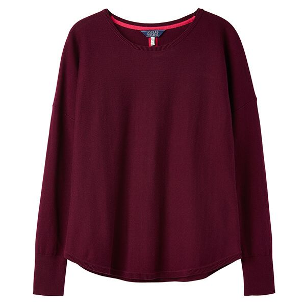 Joules Poppy Purple Round Neck Jumper
