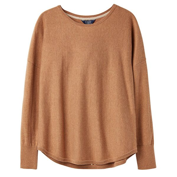 Joules Poppy Tan Round Neck Jumper