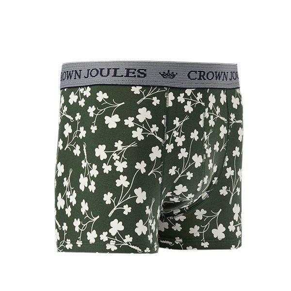 Joules Crown Joules Single Green Shamrock Underwear