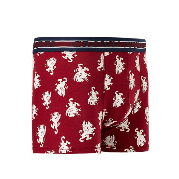 Joules Crown Joules Single Red Dragon Underwear