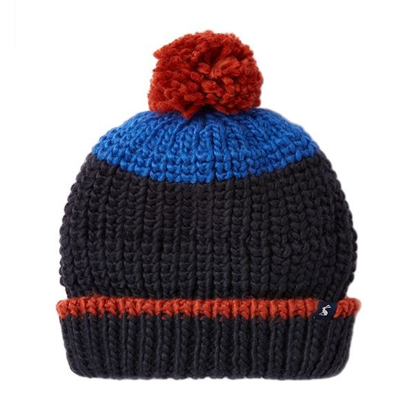 Joules Bobble French Navy Hat