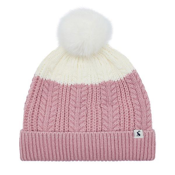 Joules Cherry Blossom Bobble Hat