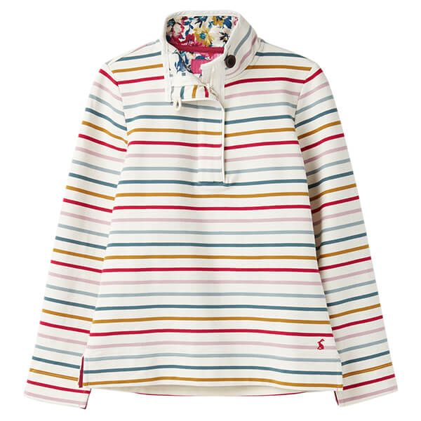 Joules Saunton Multi Stripe Classic Sweatshirt