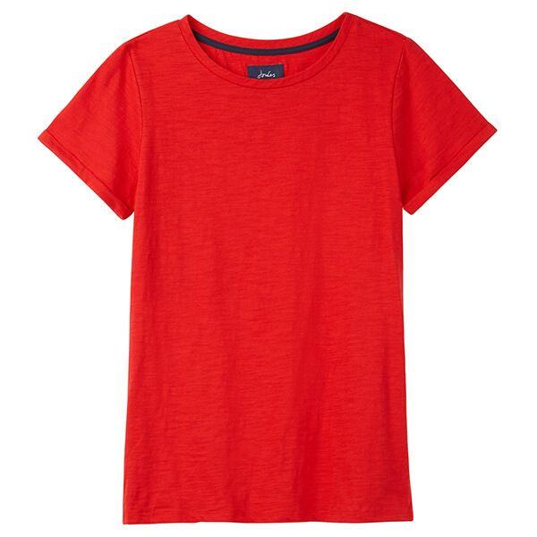Joules Nessa Red Lightweight Jersey T-Shirt