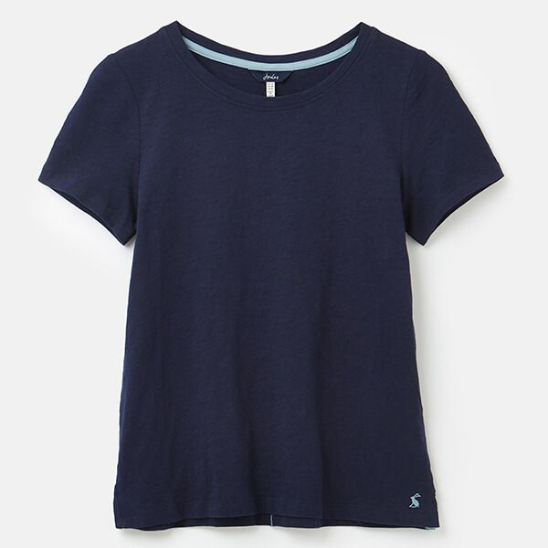 Joules French Navy Carley Classic Crew Neck Top
