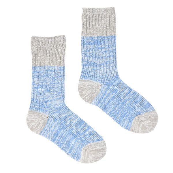 Joules Grey Marl Short Trussell Boot Socks Size 4-8