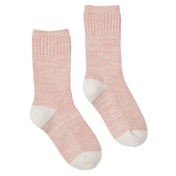Joules Pale Pink Short Trussell Boot Socks Size 4-8