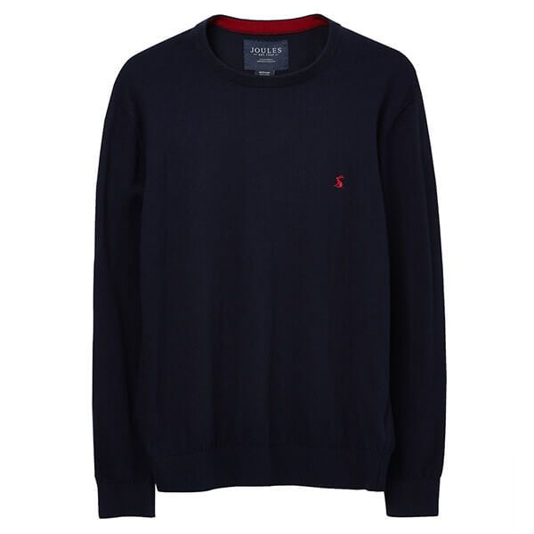 Joules French Navy Jarvis Crew Neck Jumper