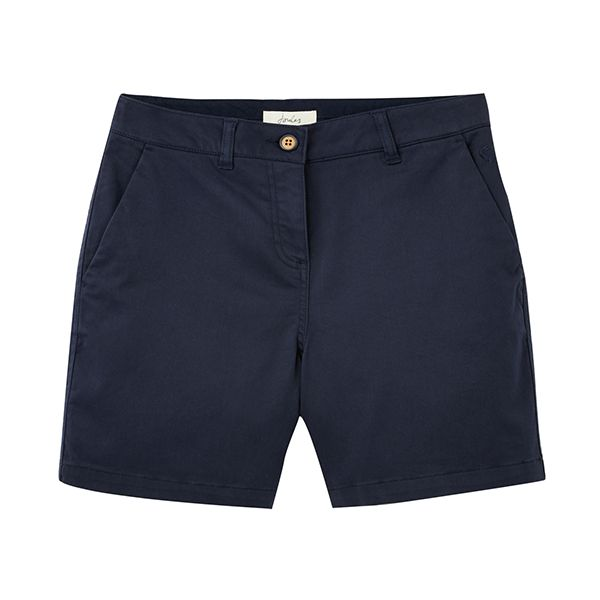 Joules French Navy Cruise Mid Thigh Length Chino Shorts