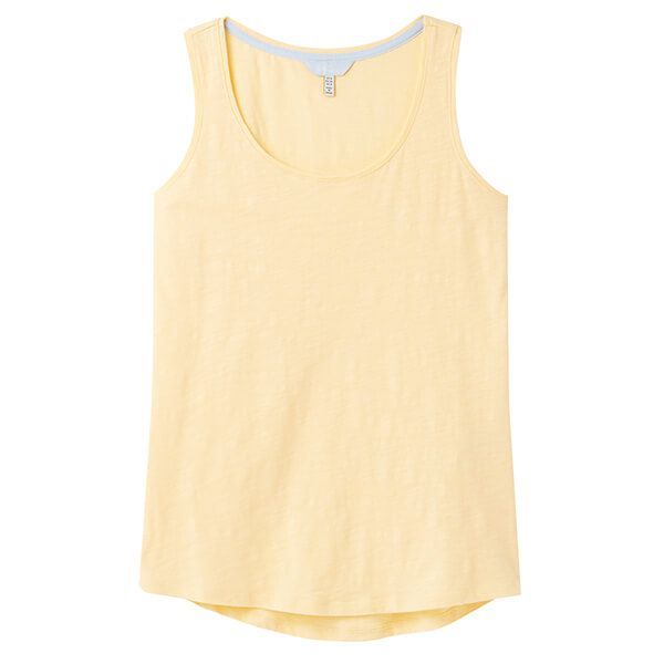 Joules Pale Yellow Bo Jersey Vest