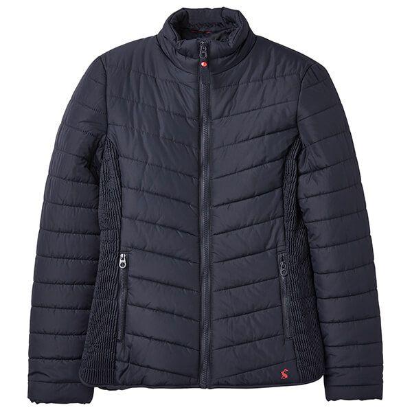 Joules Harrogate Marine Navy Upfill Padded Jacket