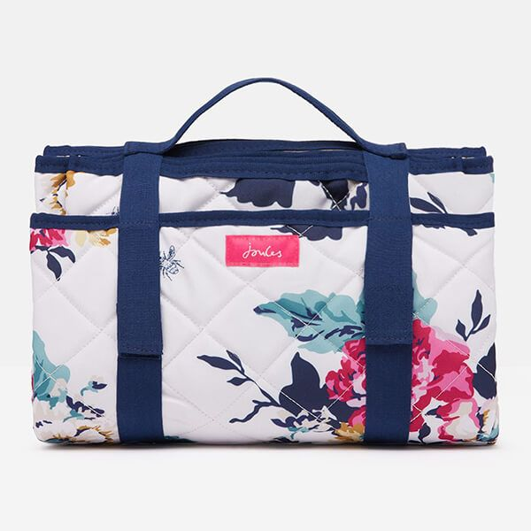 Joules Annviersary Floral Quilted Picnic Rug