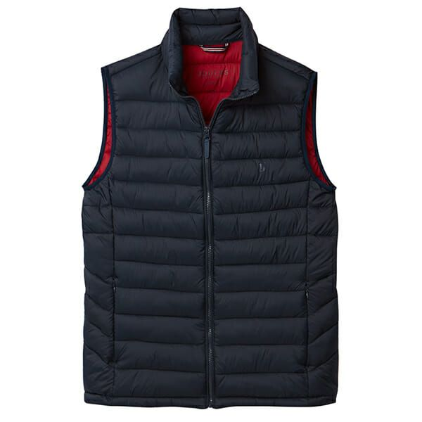 Joules Go To Marine Navy Lightweight Barrel Gilet