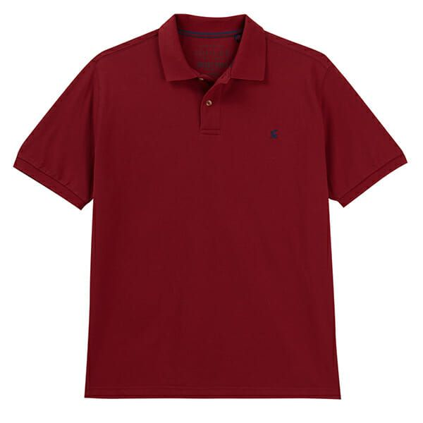 Joules Woody Deep Red Classic Fit Polo