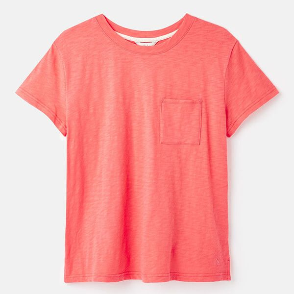 Joules Light Pink Sofi T-Shirt With Pocket