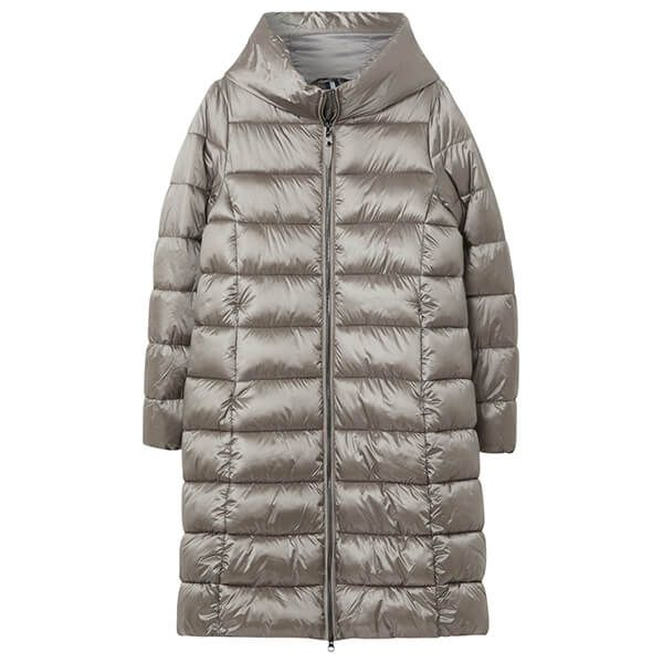 Joules Slate Langholm A-Line Padded Coat