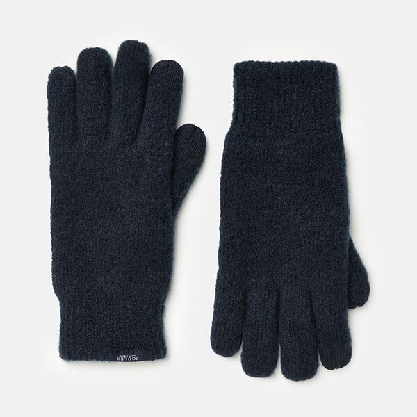 Joules French Navy Bamburgh Gloves