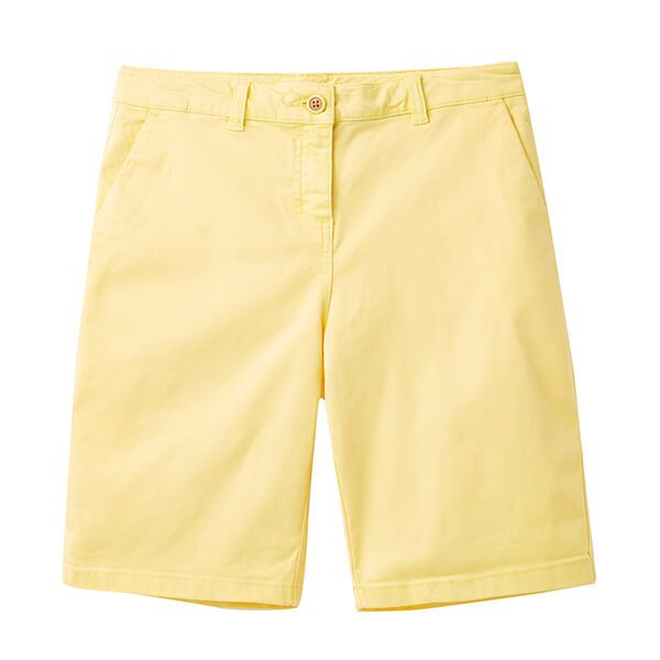Joules Lemon Cruise Longer Length Chino Shorts