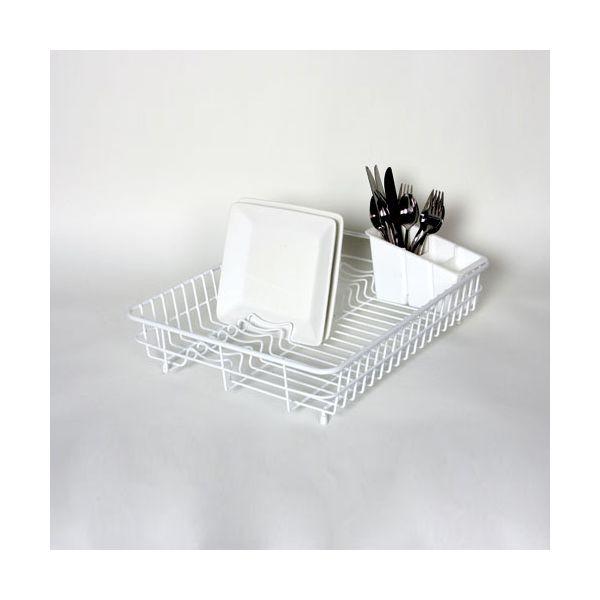 Delfinware Wireware White Large Dish Drainer