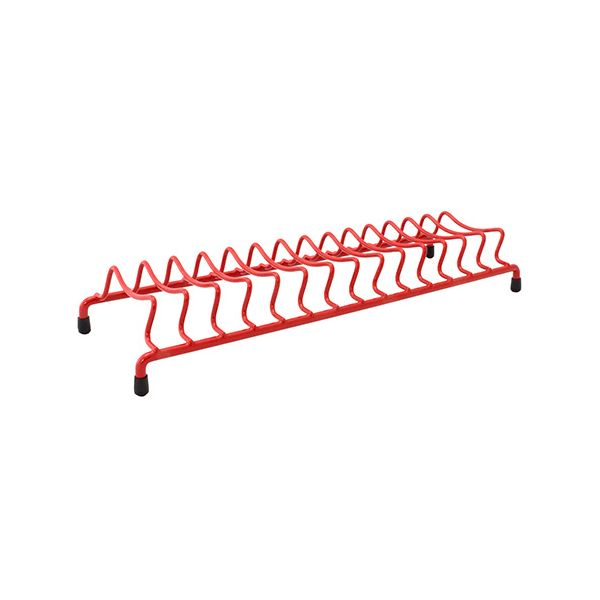 Delfinware Wireware Red Popular Plate Rack