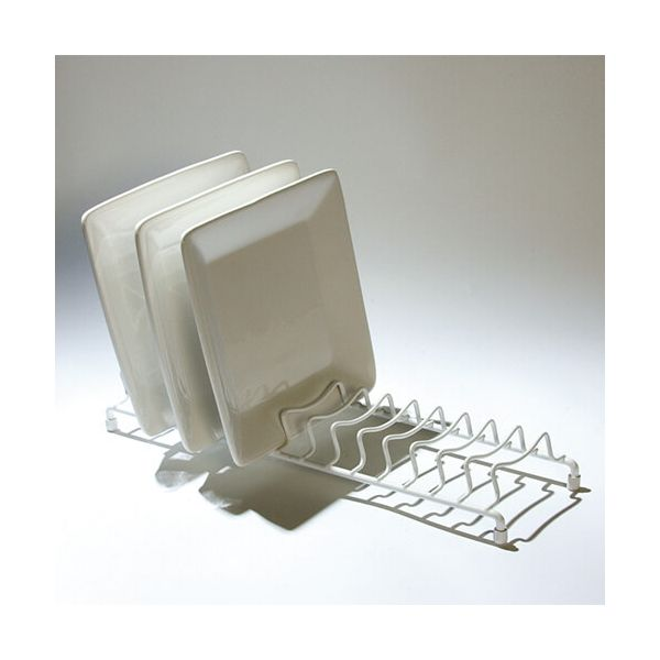 Delfinware Wireware White Popular Plate Rack