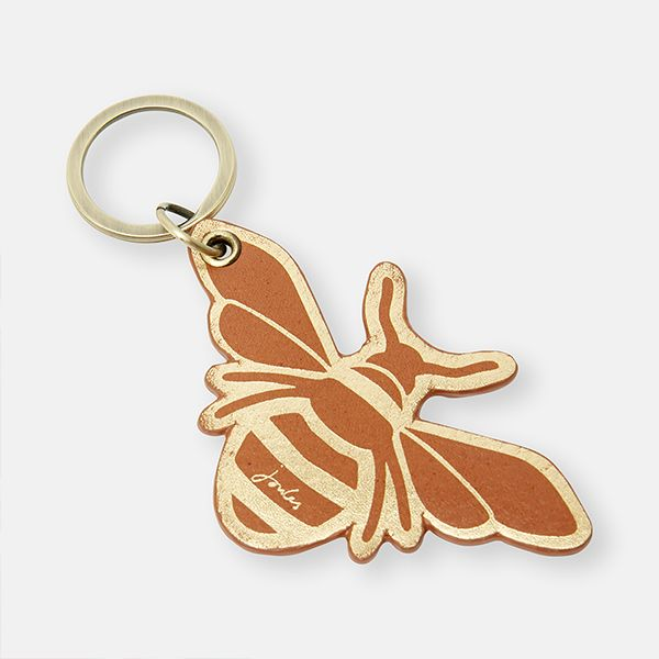 Joules Hangby Leather Keyring