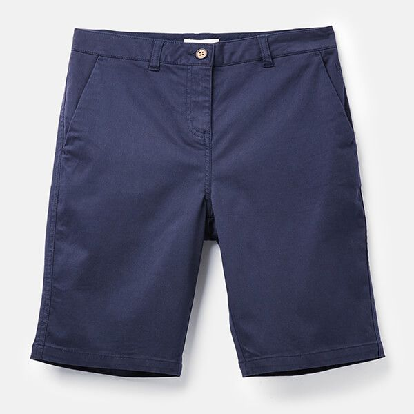 Joules French Navy Cruise Longer Length Chino Shorts