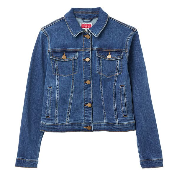 Joules Mid Blue Elsa Denim Jacket