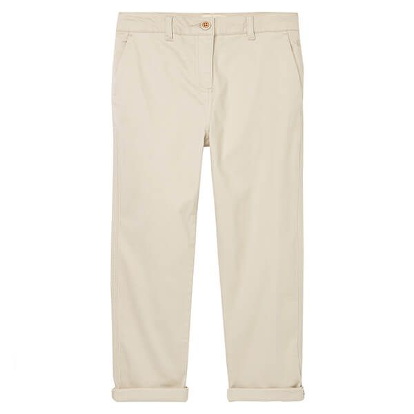 Joules Ivory Hesford Cropped Chinos