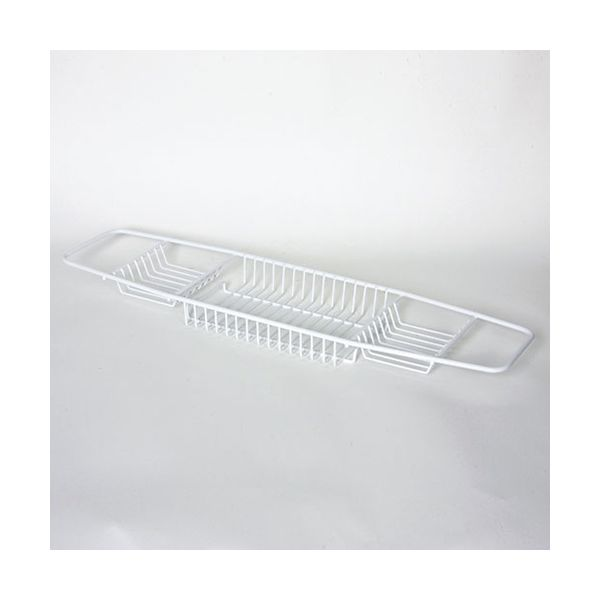 Delfinware Wireware White Bath Tray