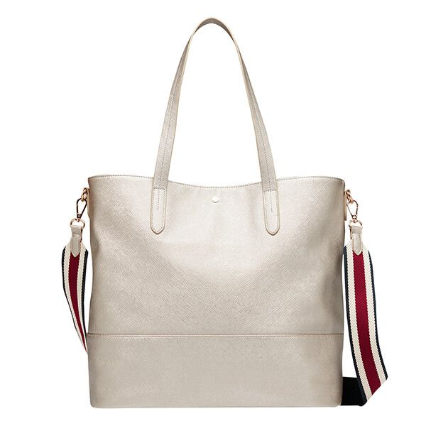 Joules Metallic Trent Shopper