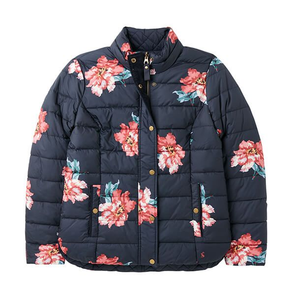 Joules Marine Navy Highgrove Reversible Quilted Jacket