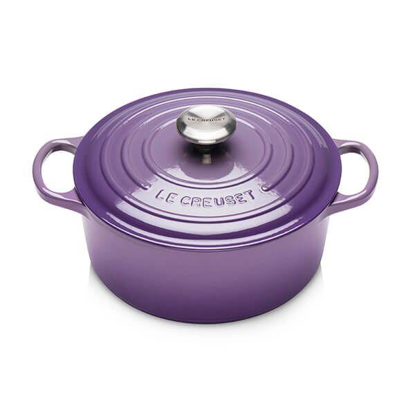 Le Creuset Signature Cast Iron Ultra Violet 24cm Round Casserole