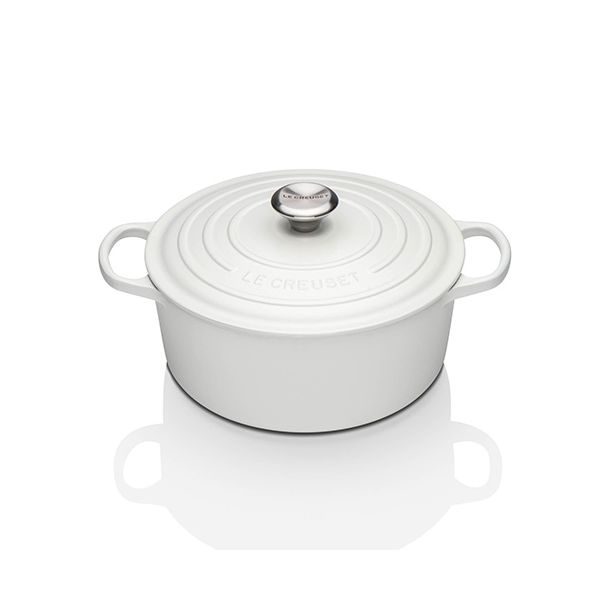 Le Creuset Signature Cotton Cast Iron 26cm Round Casserole