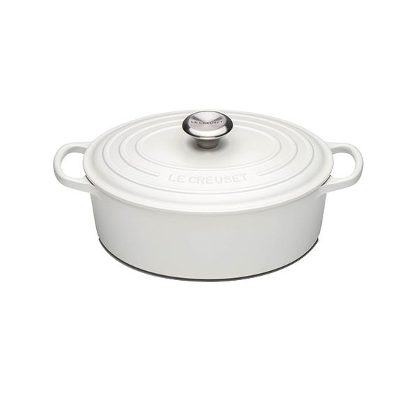 Le Creuset Signature Cotton Cast Iron 27cm Oval Casserole