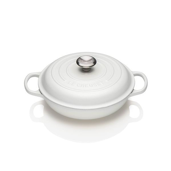 Le Creuset Signature Cotton Cast Iron 26cm Shallow Casserole