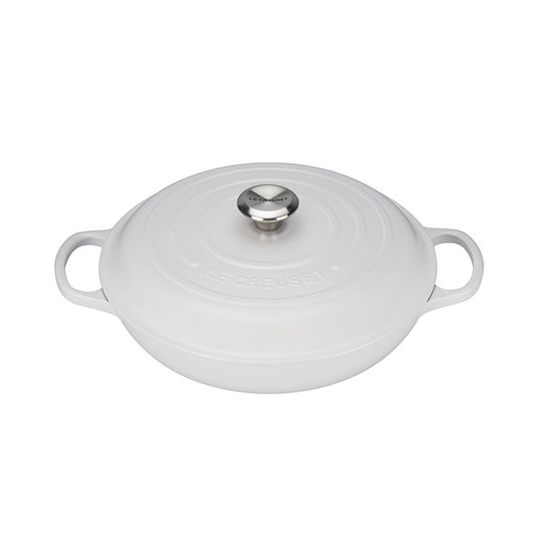 Le Creuset Signature Cotton Cast Iron 30cm Shallow Casserole