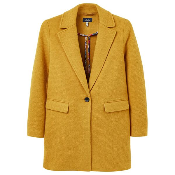 Joules Caramel Eve Wool Coat