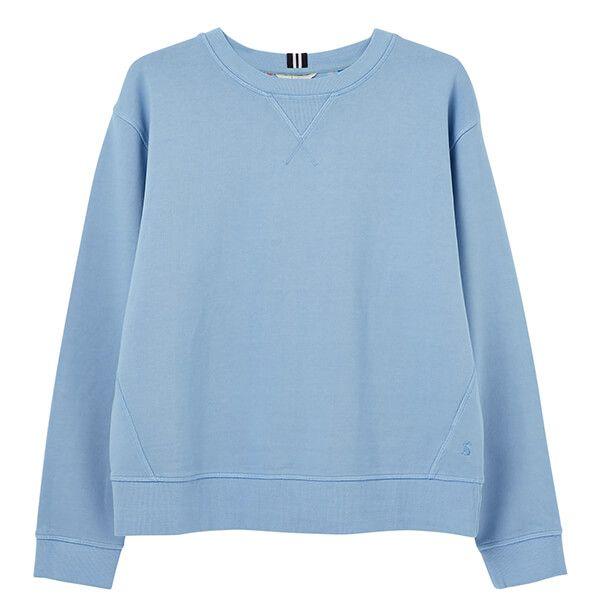 Joules Haze Blue Monique Crew Neck Sweatshirt
